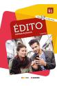 Edito niv B1 Livre + Cahier + DVD (Orjinal Renkli Basım)