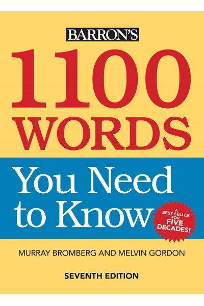 1100 Words You Need to Know 1100 Words You Need to Know