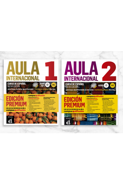 Aula Internacional Nueva edición 1 & 2 Aula Internacional Nueva edición 1 & 2