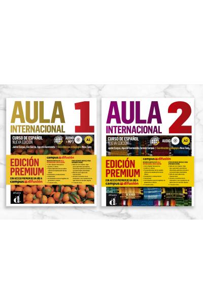 Aula Internacional Nueva edición 1 & 2 + 2 CD (Orjinal Renkli Basım) Aula Internacional Nueva edición 1 & 2 + 2 CD (Orjinal Renkli Basım)