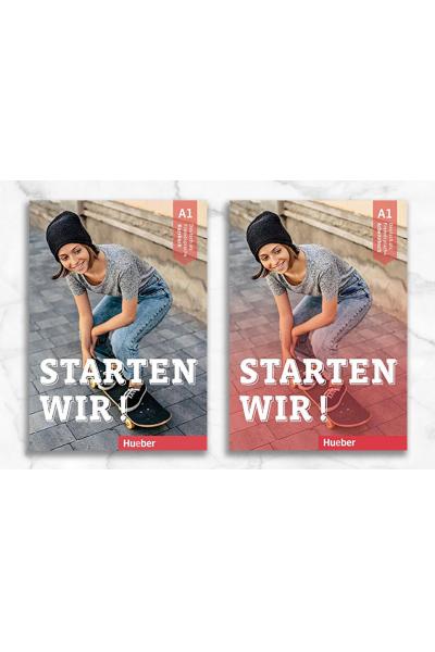 Starten Wir A1 Kursbuch + Arbeitsbuch + Video DVD Starten Wir A1 Kursbuch + Arbeitsbuch + Video DVD