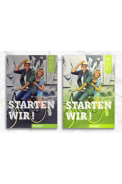 Starten Wir A2 Kursbuch + Arbeitsbuch + Video DVD Starten Wir A2 Kursbuch + Arbeitsbuch + Video DVD