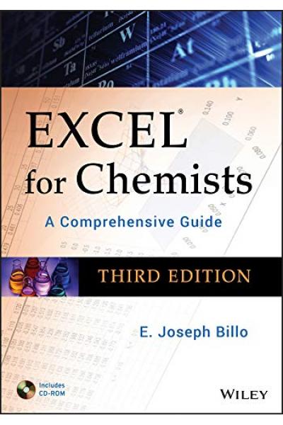 Excel for Chemists A Comprehensive Guide 3rd (E. Joseph Billo)