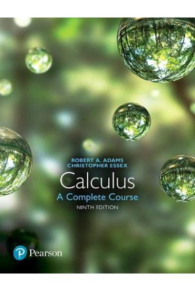 Calculus: A Complete Course ( Robert A. Adams,  Christopher Essex) 2 CİLT Calculus: A Complete Course ( Robert A. Adams,  Christopher Essex) 2 CİLT