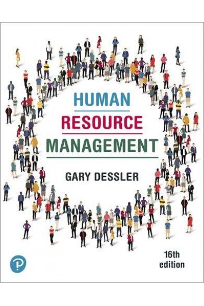 Human Resource Management 16th (Gary Dessler) Human Resource Management 16th (Gary Dessler)