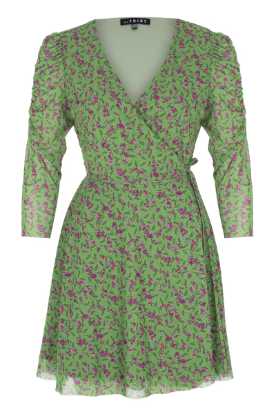 Vola Dress - Yeşil Desenli Vola Dress - Yeşil Desenli