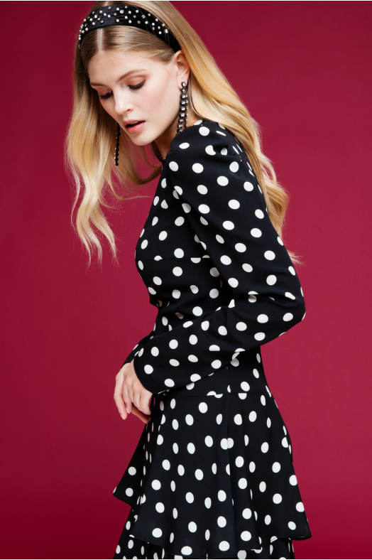 Lulu Polka Dot Dress