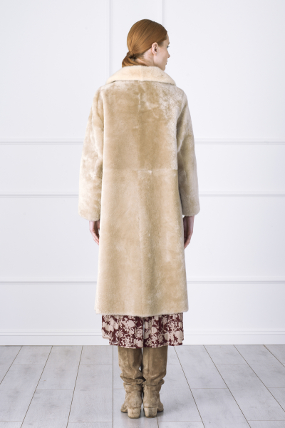 Beige Fur Coat Beige Fur Coat