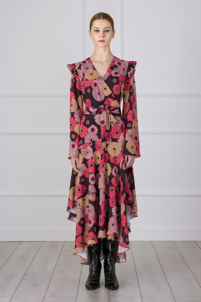 MERGIM Gabrielle Dress (floral pattern)
