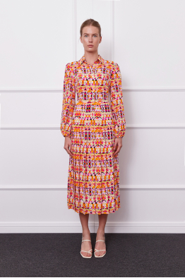 MERGIM Anna Dress (orange)