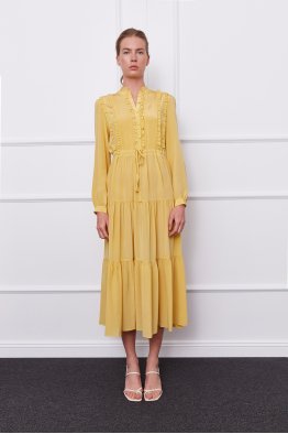 MERGIM Harper Dress (yellow)