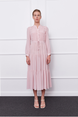 MERGIM Harper Dress (pink)