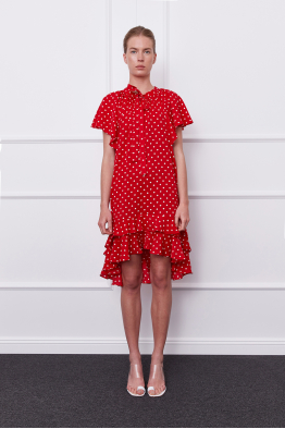MERGIM Estella Dress (red)
