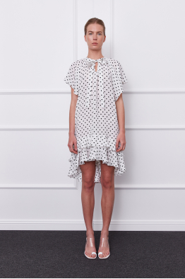 MERGIM Estella Dress (white)
