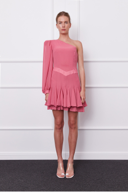 MERGIM Goya Dress (faded pink)