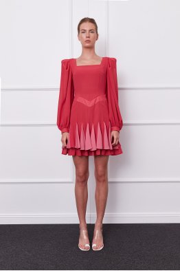 MERGIM Gila Dress (coral)