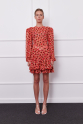 Galia Dress (red/brown)