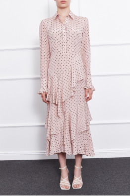 MERGIM Cora Dress (Polka-dot)