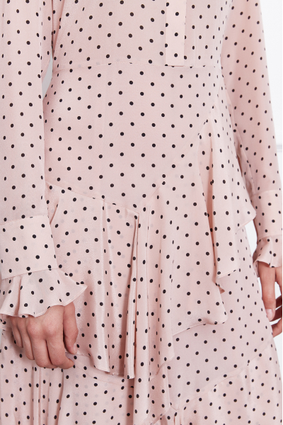 MERGIM Cora Dress (Polka-dot)