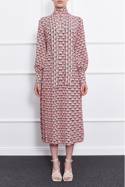 MERGIM Rosie Dress (Pink)