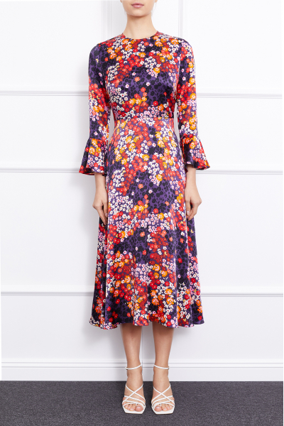 Clarita Dress (Multicolor)