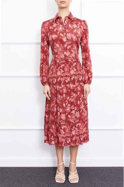 MERGIM Anna Dress (Burgundy)