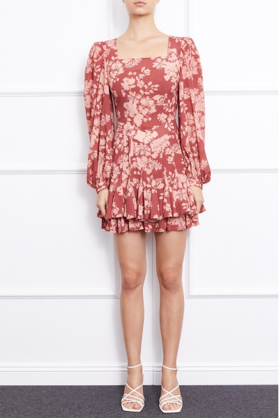 Gila Dress (Burgundy)