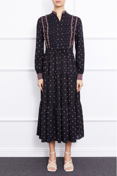 MERGIM Harper Dress (Black)