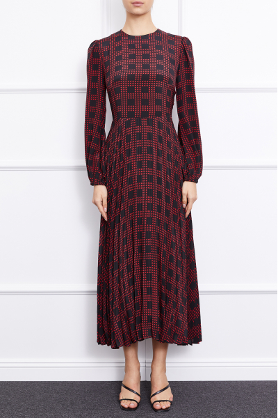 Bella Dress (black/red)