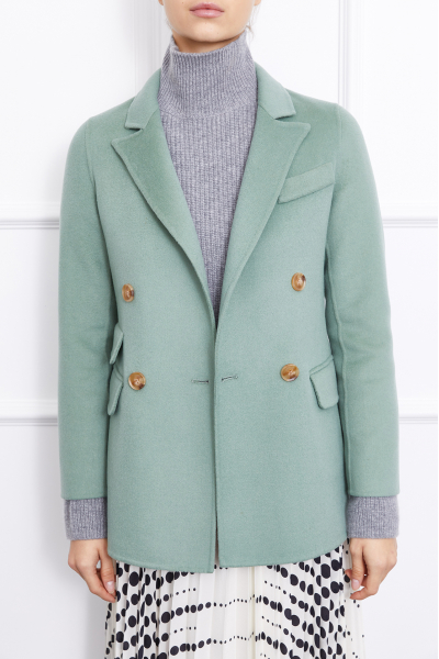 MERGIM Cashmere Blazer (Green)