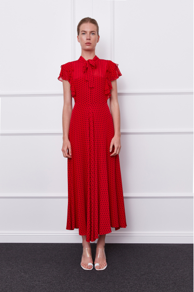 Valencia Dress (red)