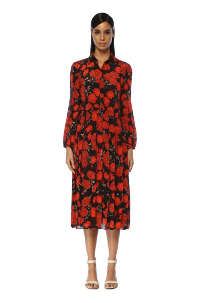 MERGIM Anna Dress (Red)