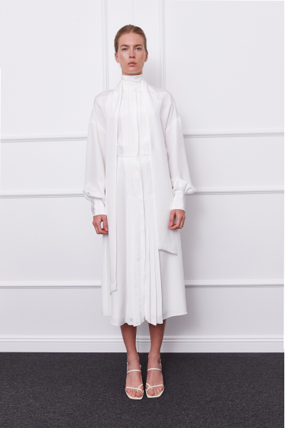 Gloria Dress (White)