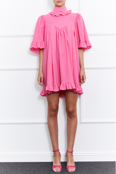 Lulu Dress (Pink)