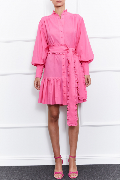 Jasmine Mini Dress (Pink)