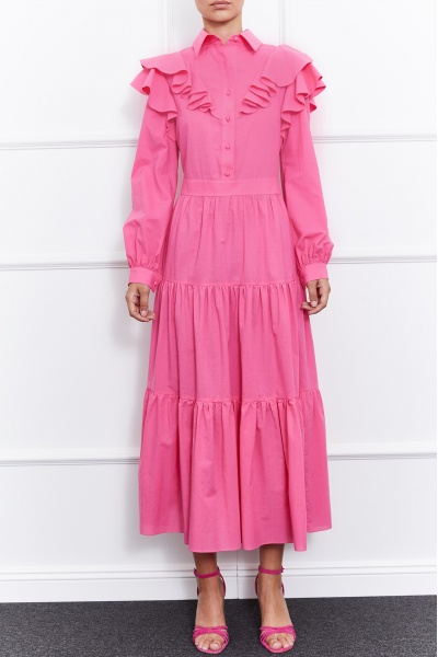 Liana Dress (Pink)