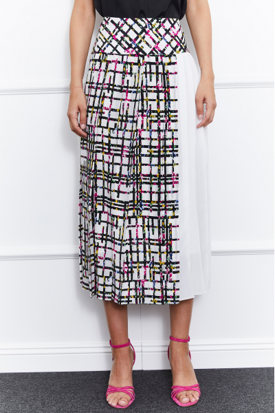 Rita Silk Skirt