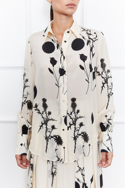 Luna Silk Shirt