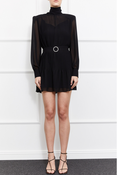 Kelsey Mini Dress (Black)