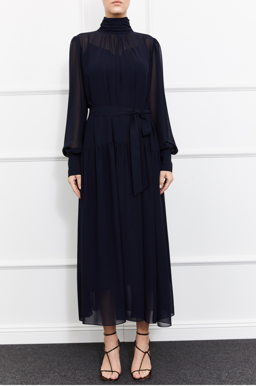 Cara Dress (Navy)