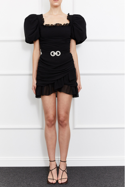 Magda Square Neck Dress