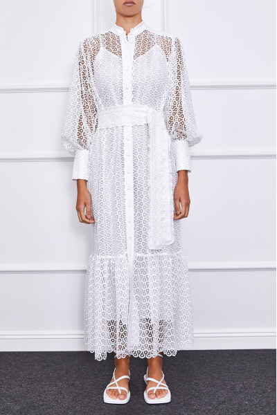 Jasmine Maxi Dress (White II)