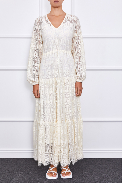 Arielle Dress (Off-white)
