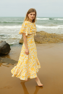 Daria Floral Dress