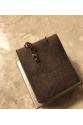 Kişiye özel iki harfli earjacket gümüş TEK küpe