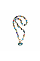 Evil eye and colors necklace