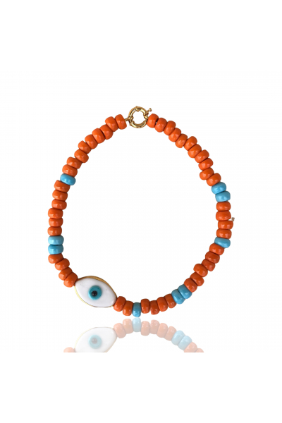 Orange and Eye kolye Orange and Eye kolye