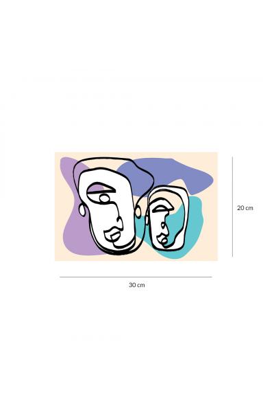 Maskeler - Eflatun