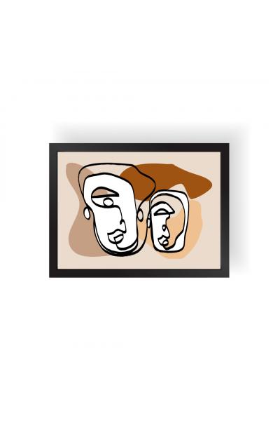 Maskeler - Kahve
