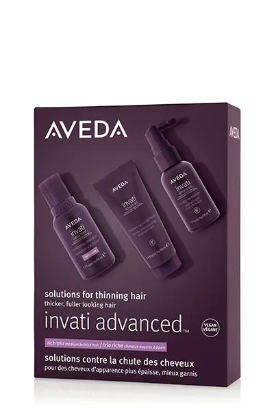 AVEDA Invati Advanced Saç Dökülmesine Karşı Bakım Seti: Zengin Doku AVEDA Invati Advanced Saç Dökülmesine Karşı Bakım Seti: Zengin Doku